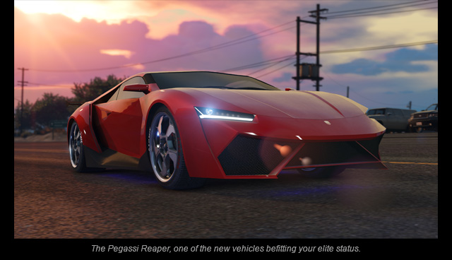 GTA Online: Further Adventures in Finance and Felony Coming June 7th